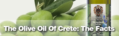 The Olive Oil of Crete: The Facts